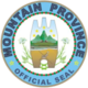 Official seal of Mountain Province