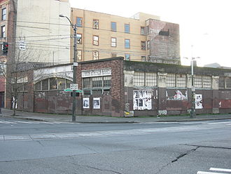 History of Filipino Americans - The building where Domingo and Viernes were assassinated.