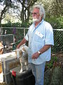 Seattle Tilth Harvest Fair - man with goat.jpg