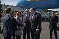 Secretary Pompeo Arrives in Rovaniemi, Finland (33910481678).jpg
