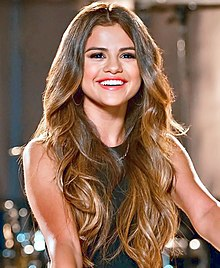 Selena Gomez - the cute, attractive, talented,  celebrity, tv-personality, actress, musician, artist,   with Italian, Mexican,  roots in 2020