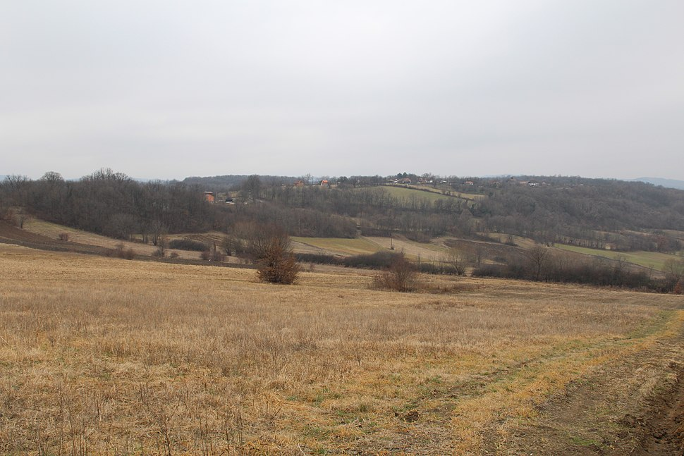 Selo Klinci - opština Valjevo - zapadna Srbija - Panorama 3 - Pogled prema jugozapadu