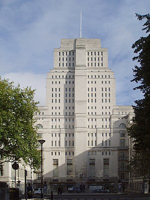University of London - Senate House, the headquarters of the University of London since 1937