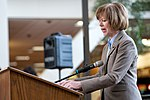 Senator Tina Smith speaking at an event in support of DACA at Hennepin County Government Center Minneapolis, MN (39562708231).jpg