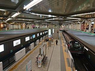 Senri-Chūō Station Metro and monorail station in Toyonaka, Osaka Prefecture, Japan