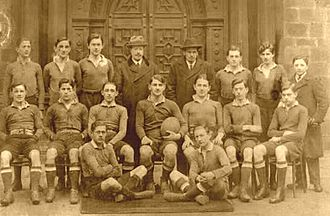 Serbia national rugby union team - A Serbian Rugby Team, 1918
