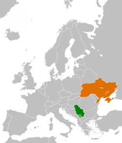 Serbiaukraine relations wikipedia map indicating locations of serbia and ukraine gumiabroncs Gallery