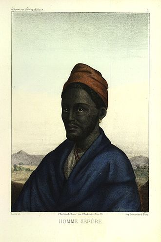 Joof family - Maad a Sinig Ama Joof Gnilane Faye Joof (king of Sine). Reigned c. 1825-53). From The Royal House of Semou Njekeh Joof.