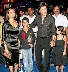 Shah Rukh Khan and Family.jpg