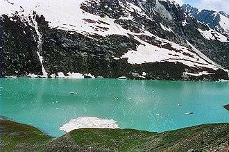 Sheshnag Lake - Image: Sheshnag 6