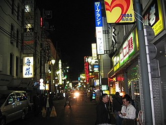 Yakuza - The alleys and streets of Shinjuku are a popular modern Tokyo yakuza hangout.