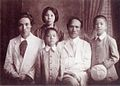 Shiotsuki Tōho and families.jpg