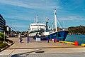 Ship St John Harbour Newfoundland (39554977890).jpg