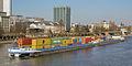 Ship VRIDO II on the river Main in Frankfurt Germany - 01.jpg