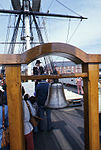 Shipboard bell of the USS Constitution (8636636881).jpg