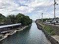Shizukigawa River from Shizukibashi Bridge 2.jpg