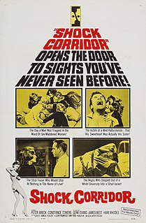 <i>Shock Corridor</i> 1963 film by Samuel Fuller