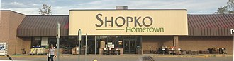 Shopko - Shopko Hometown in Standish, Michigan in October 2017. This location closed on March 17, 2019.