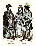 Siberia Tartar Woman, Kalmucks