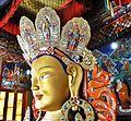 Side profile, Maitreya Buddha, Thiksay Monastery - 1.jpg