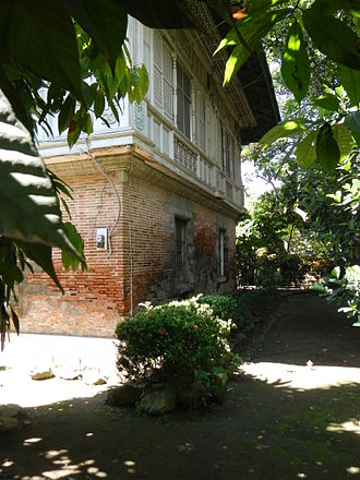 First Philippine Republic - Sideco house served as Emilio Aguinaldo's capitol from the fall of Malolos on March 31, 1899, until May 17, 1899, when San Isidro was taken by the Americans.