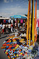 Sidi Bou Said souvenir market, colorful Tunisian ceramics. Northern Tunisia, Mediterranean Sea, Northern Africa.jpg