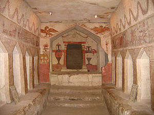Maresha - Decorated burial cave at Tel Maresha
