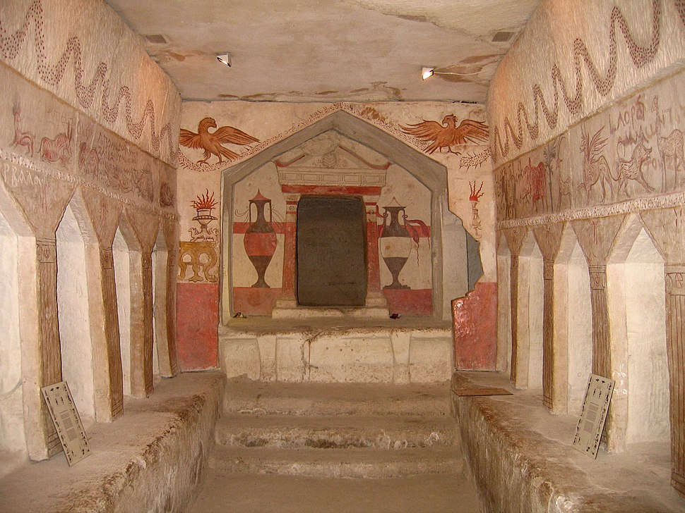 Sidonian Burial Caves 036