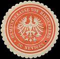 Siegelmarke Gemeindekasse von Hardenberg zu Neviges W0327863.jpg