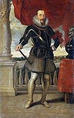 Portrait of King Sigismund III Vasa.
