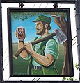 Sign for the Forester's Arms, Frogham - geograph.org.uk - 951478.jpg
