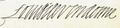 Signature of Louis de Vendôme, Duke of Vendôme.png