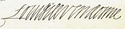 Louis de Bourbon's signature