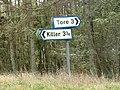 Signpost at Junction - geograph.org.uk - 361910.jpg