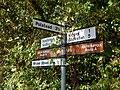 Signpost at Kersey Upland - geograph.org.uk - 1474528.jpg