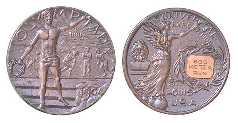 Silver medal of 1904 Summer Olympics