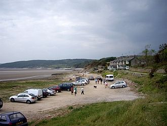 Silverdale, Lancashire - The shore, looking north