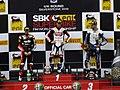 Silverstone Sbk 2013 - Podium after 1st race - panoramio.jpg