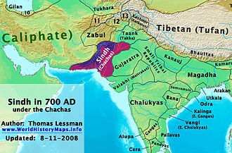 Umayyad campaigns in India - Sindh and neighbouring kingdoms