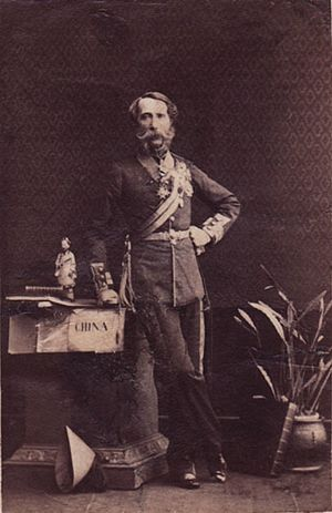 Charles van Straubenzee - Major-General Van Straubenzee, 1861