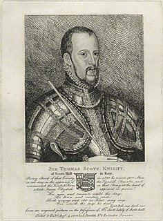 Thomas Scott (died 1594) English Member of Parliament, died 1594
