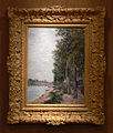 Sisley Road Along the Seine at Saint-Mammes DMA 1985-R-69 with frame.jpg