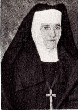 Our Lady of Mount Carmel High School (Wyandotte, Michigan) - Image: Sister Mary Bernadette. Foundress of Our Lady of Mount Carmel High School