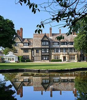Sizewell Hall Christian centre in Suffolk, England