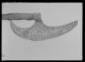 Skäggyxa, guisarme, 1500-1600-tal - Livrustkammaren - 27444.tif