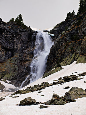 Skakavitsa Waterfall - Skakavitsa Waterfall in May