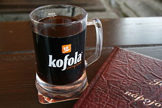 Kofola carbonated soft drink produced in Czech Republic and Slovakia