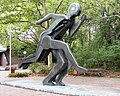 Skulptur Oderstr 182 (Neukö) Läufer&Karlheinz Biederbick&1986.jpg