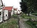 Slatina (okres Litoměřice), domy na návsi.JPG