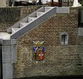 Sluis, trap en sluismuur met wapensteen - Hoorn - 20371626 - RCE.jpg